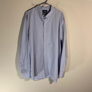 Bonobos Polka Dot Button Front Shirt 3XL Long